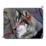 Personalised Wolf Themed Glass Chopping Board Small / Large